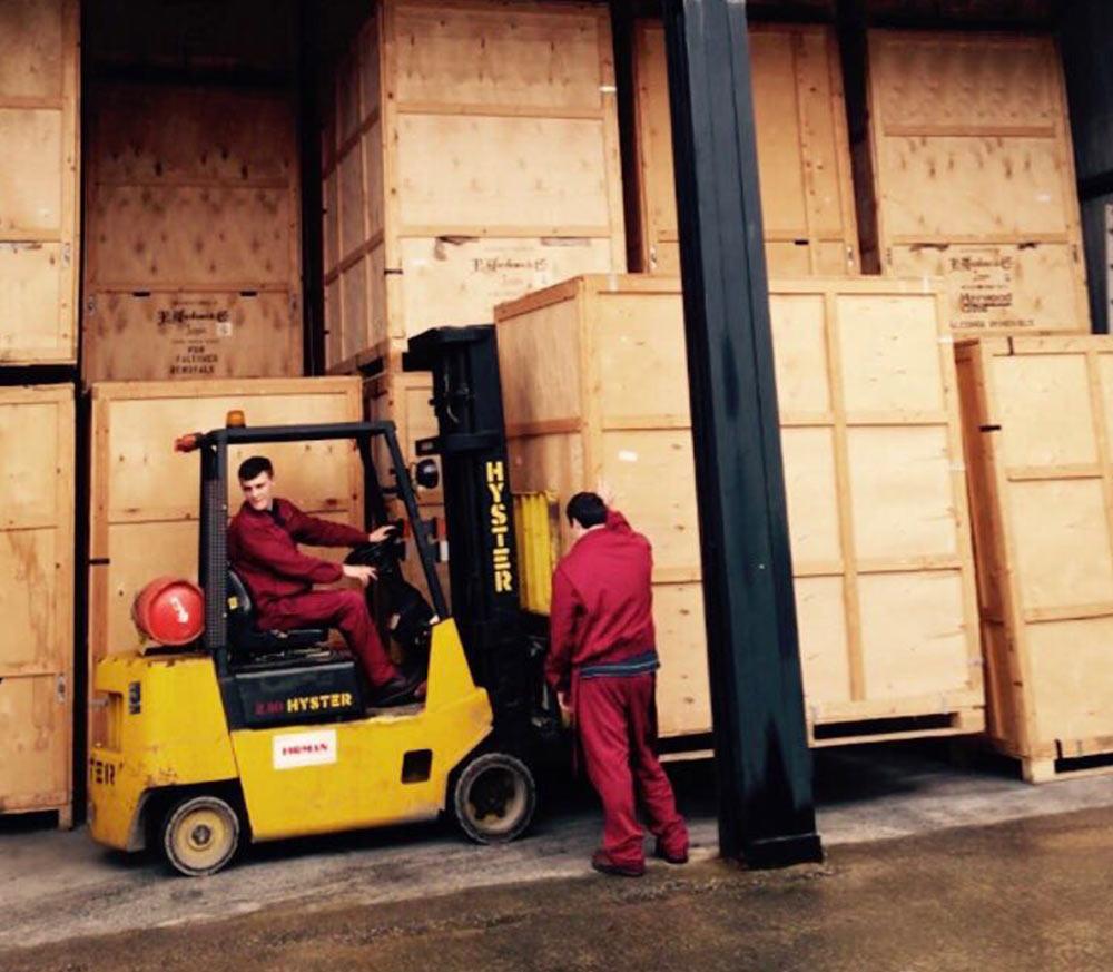 indoor heated containerised storage